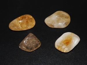 citrine tumblestones